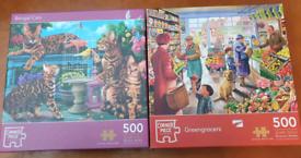 500 piece jigsaw puzzles