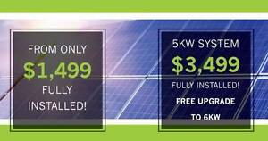 Solar Panel System - 6kW System For Only $3,499 Fully Installed Perth Perth City Area Preview