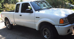 2005 Ford Ranger Edge/ Super Cab/AC Pickup Truck Sold As Is