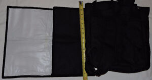 Black Insulated Cooler Backpack with Change Pad - NEW London Ontario image 2