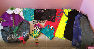 ZUMBA FITNESS CLOTHES, CD/DVDs, ACCESSORIES FOR SALE