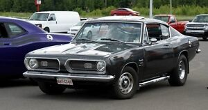 1968 Plymouth Barracuda Fast Back for sale