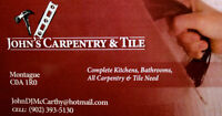 John's Carpentry & Tile