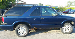 1999 Chevrolet Blazer SUV, Crossover- as is