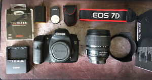 Canon 7D and Assorted Lenses - REDUCED