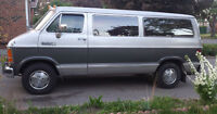 1987 Dodge Ram Van LOW KM!!!!! MINT CONDITION!!!!