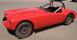 1962 MGA Mk2 Roadster with Race History from 1970's