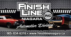 Finish Line Niagara ( Sandblasting & Automotive Painting )