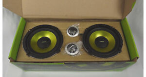 "Brand new in box 6.5"" Fusion component speakers!!!!!"