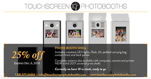 Photobooth Shells or Complete Systems Peterborough Peterborough Area image 1
