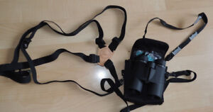 Bushnell binoculars 8 X 42 with chest strap