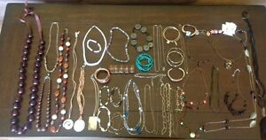 Lot of 56 pieces of jewelry