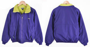 Vintage 90s Patagonia purple windbreaker winter ski jacket S XS