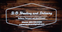 D.O Hauling,Delivery and Junk Removal