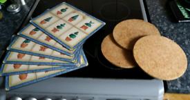 Placemats and pan mats