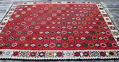 alter Kelim Handwebteppich Orientteppich Teppich Carpet Rug Kilim Türkei