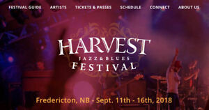 Up to 3 Friday and/or Saturday night Harvest Jazz passes