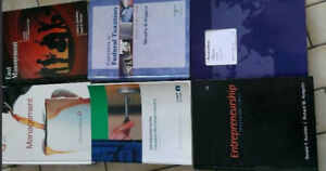 Accounting, Management and other finance books starting $10