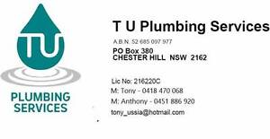 TU Plumbing Services Chester Hill Bankstown Area Preview