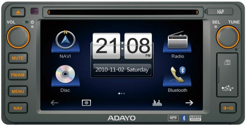 ADAYO CE4KM6 For Toyota Standard Model Navigation Mapping Included Fitment Included 2 YEAR Warranty