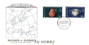 GB Guernsey 1976 FDC 133-34 Europa Cept Craft Industry Kunsthandwerk Cartography - Dabrowa, Polska - GB Guernsey 1976 FDC 133-34 Europa Cept Craft Industry Kunsthandwerk Cartography - Dabrowa, Polska