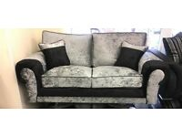 FABRIC/CRUSH VELVET *tango SOFA* CHEAPEST PRICE LUXURY 3+2/Corner sofa 12492