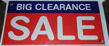 """""""BIG CLEARANCE SALE"""" 4 ft. X 2 ft. - Ready-made Banner ! Epping Whittlesea Area Preview"""