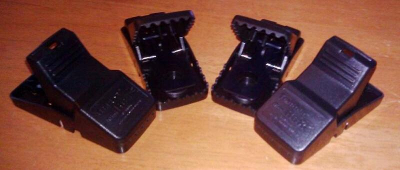 4 Trapper Mini T-Rex Mouse Trex Snap Trap Easy To Set Re-usable Control Mice e