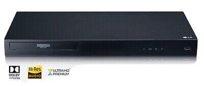 LG 4K Blu-Ray & DVD Player w/Streaming~Ultra Hd Audio~W/Dolby~Wired or Wireless