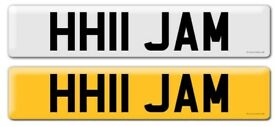 Private Registration HH11 JAM