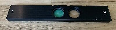 Zeiss Axioskop Fluorescence Heat Blocking Cut Cold Filter Microscope Slider