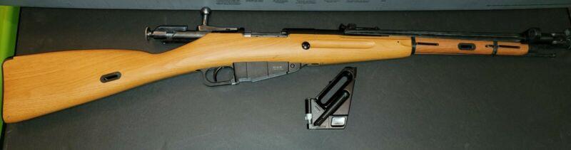 Airsoft Mosin-Nagant M44 CO2 Bolt Action  Rifle w/ Bayonet **REPAIR OR PARTS**