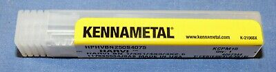 New Kennametal 4067344 Solid Carbide Ball End Mill 14 Dia. X 34 Loc