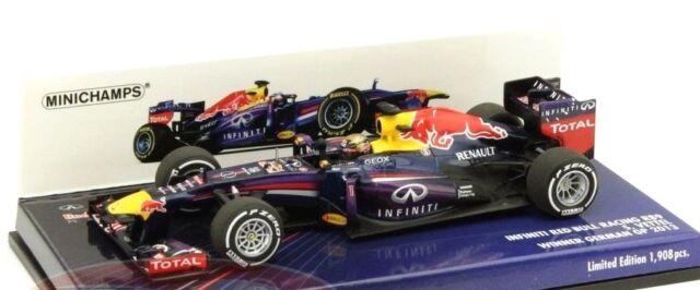 MINICHAMPS 1/43 INFINITI RED BULL RENAULT RB9 S. VETTEL WINNER GERMAN GP 2013
