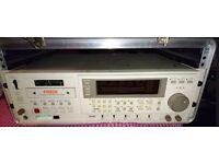 Fostex D-10 Digital Master Recorder (including Manual), Flight Case & Tapes (New & Used)