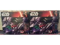 Star Wars the force awakens Tie Fighter with pilot