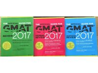 The official guides for GMAT 2017