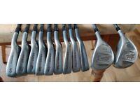 DAIWA MID PLUS IRONS ~ 3 - SW, 3 & 5 Metal Woods REGULAR GRAPHITE SHAFTS