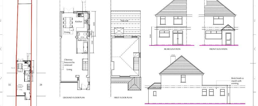 Planning Permission Architectural Drawings In Uxbridge