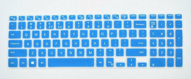 2pcs Keyboard Cover Skin For Dell Inspiron 15-3542//5547//1528//15C 3000 series