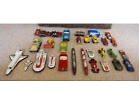 Corgi and Matchbox toys.