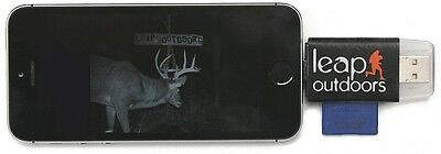 Leap Outdoors Trail Camera Viewer SD Card Reader for Apple i