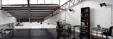 Creative warehouse studio space