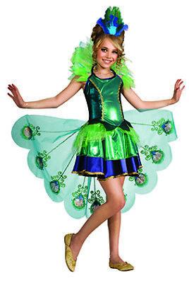 Peacock Pfauenkleid Pfau Kostüm für Kinder