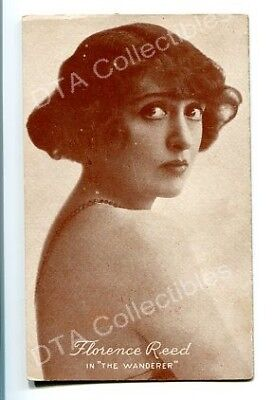 Florence Reed (FLORENCE REED-ARCADE CARD-WANDERER-1920 G)
