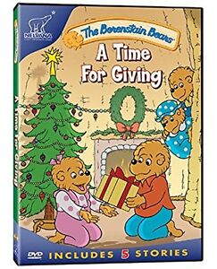 Berenstain Bears-Time For Giving Christmas dvd-new and sealed