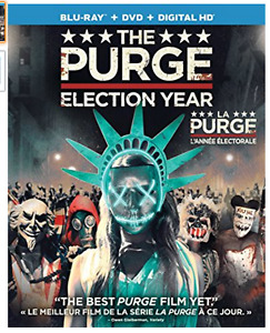 THE PURGE: ELECTION YEAR (Purge. Année électorale) BLU-RAY DVD