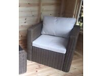 Rattan chair - brand new, in its box!