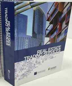 Real Estate Trading Services Licensing Course Manual