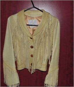 Manteau à frange / Fringe jacket Gatineau Ottawa / Gatineau Area image 1